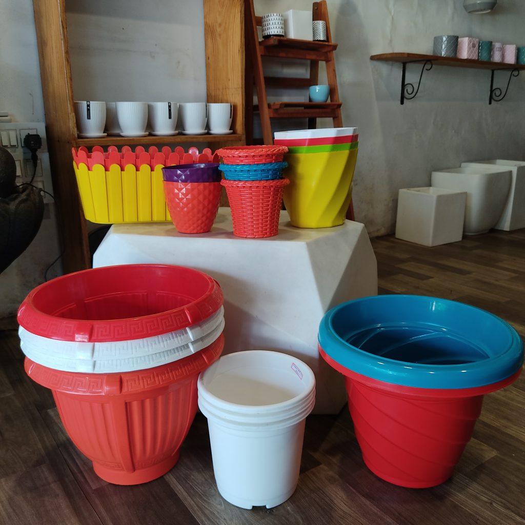Plastic pots Thrissur