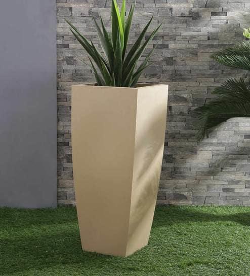Italia Biege polymer planter in kerala