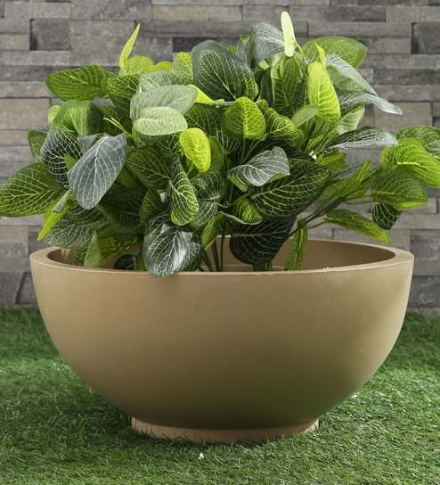 bowl planter beige fox b